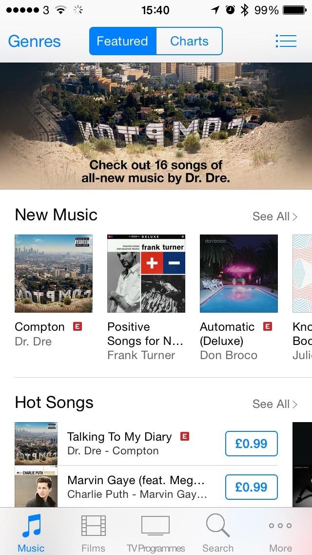 iOS iTunes Store